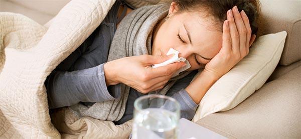 akupresura za gripo in prehlad