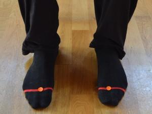Vmesna pot (Lv 2 - Jetra) Lokacija: Na kožici med palcem in drugim prstom na nogi.