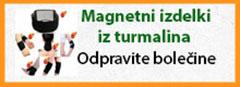 Magnetni izdelki iz turmalina