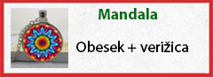 mandala obesek in verizica