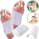 blazinice za rastrupljanje prilepimo na stopala