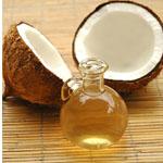 s kokosovim oljem nad kandido