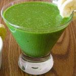 sok zelene proti protinu