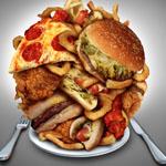 Hrana z visoko vsebnostjo maščob je težko prebavljiva.