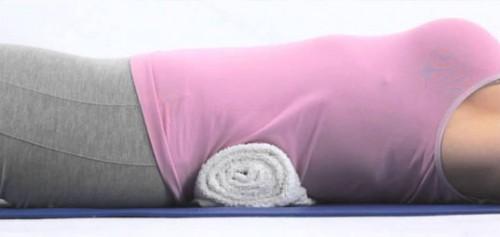 brisača pod hrbtom