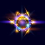 sevanje zemlje z negativnimi elektroni