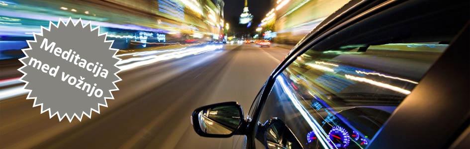 Meditacija med vožnjo z avtom