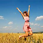 sreča je odvina tudi od nvronov v črevesju
