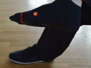 Dedek in vnuk (SP 4 – Vranica) Lokacija: Na notranji strani stopala, kjer palec sreča stopalo, dva palca širine proti peti.