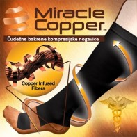 Čudežne bakrene kompresijske nogavice