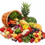 Sadje in zelenjava ima nizko količino kalorij, vendar vsebuje visoko hranilno vrednost.