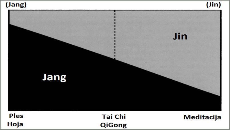 QiGong – mentalna in fizična vadba (Jin in Jang, Wai Dan in Nei Dan)