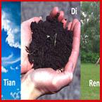 Kaj Qi? Trije zakladi: Nebo (Tian), Zemlja (Di) in Človek (Ren) (Kitajska definicija)